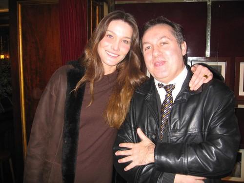 Carla bruni et le blogreporter