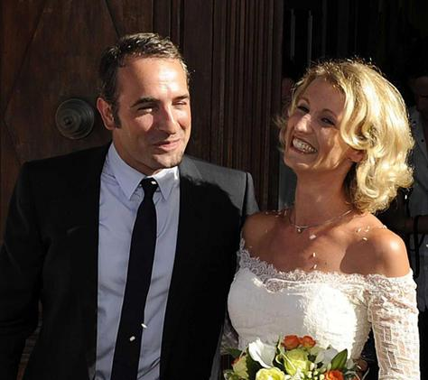 Jean_dujardin PHOTO MARIAGE