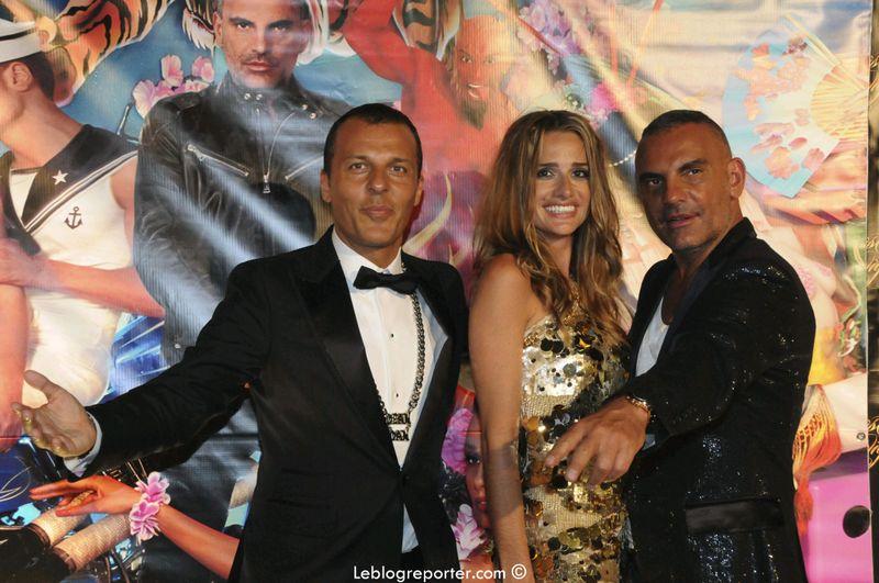 Christian Audigier et Ira Cannes 2009