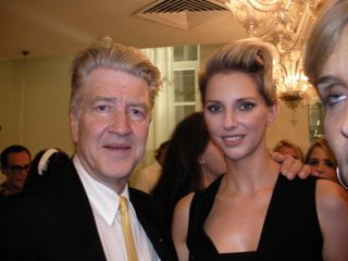 David Lynch et Fréderique Bel