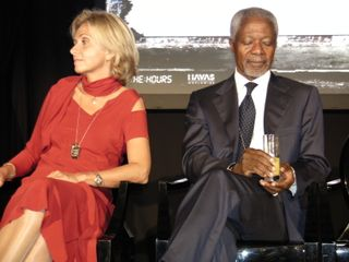 Kofi Annan Valerie Pecresse By Blogreporter