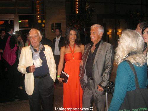 Belmondo et Barbara Gandolfi Los Angeles