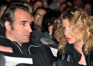 Jean Dujardin Alexandra Lamy premiere Le Mac Paris blogreporter Georges Biard