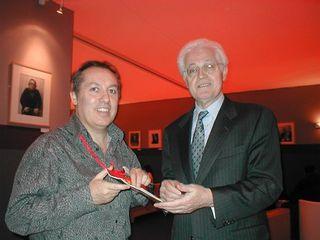 Lionel Jospin et Hugo Mayer Le Blogreporter