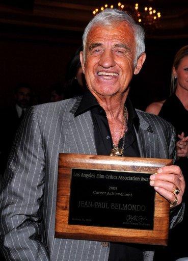 Belmondo primé a Los Angeles
