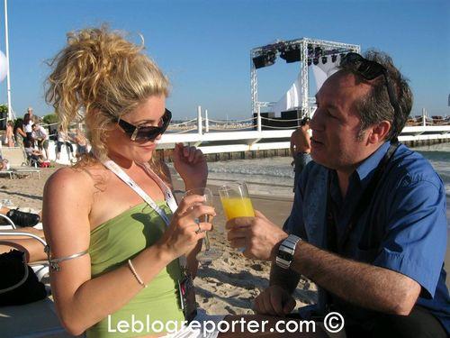 Celine Durand Beach Cannes (Large)