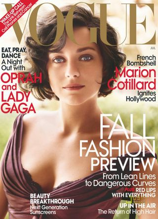 Marion Cotillard Vogue Blogreport