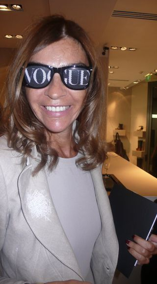 Carine Roitfeld vogue night 2010
