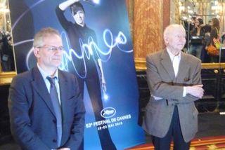 Thierry Fremaux et Gilles Jacon conference de presse, Cannes