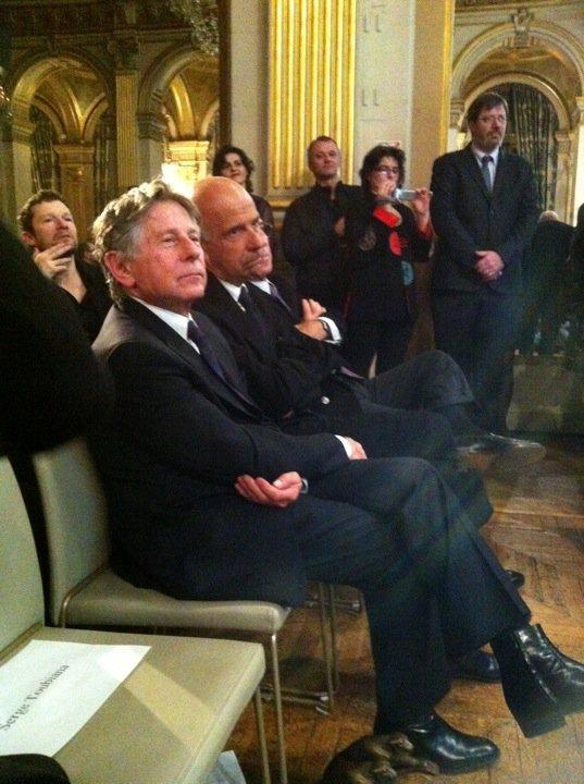 Roman Polanski aux 16e Lumiere Paris photo by LeBlogreporter