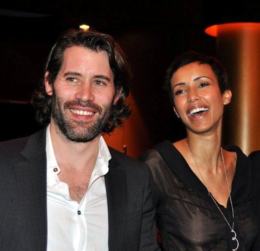 Le couple Sonia Rolland Jalil Lespert