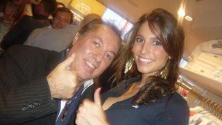 Miss France 2011 et Hugo Mayer Blogreporter