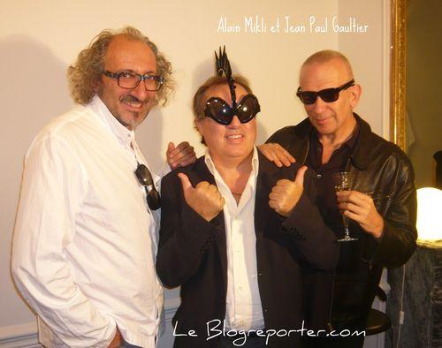 Mikli- le blogreporter- Jean-Paul Gautier
