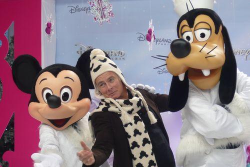 Franck Dubosc à Disneyland