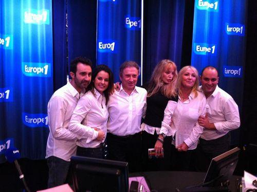 Europe 1 , Drucker , Madenian, Faustine Bollaert