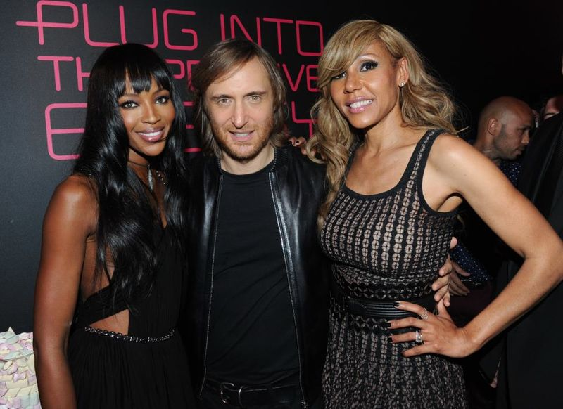 David et Cathy Guetta (anniversaire) avec Naomie Campbell _ blogreporter