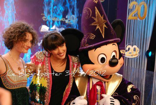 Nolwen Leroy 20 ans Disneyland_Blogreporter, Paris