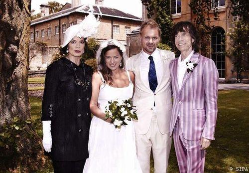 Mariage jade_jagger_fille  de Mick Jagger