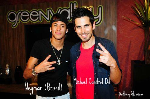 Neymar, Blogreporter