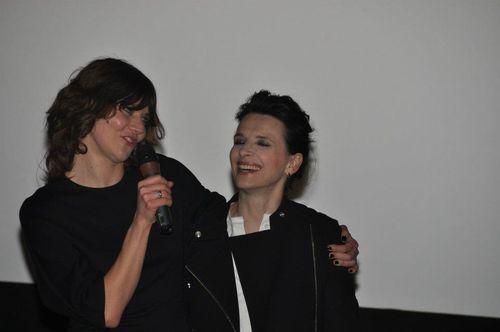 Elles un film avec Juliette Binoche, premiere Paris