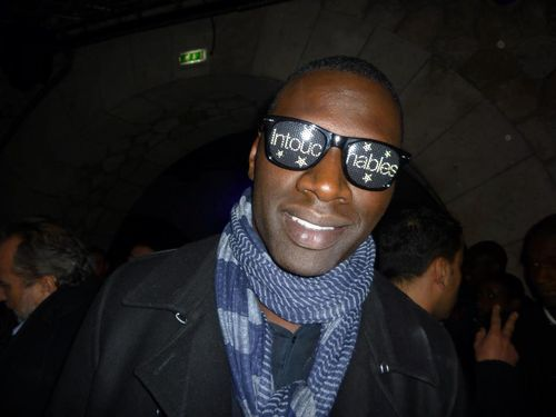 Omar Sy fete intouchables au Show case-Blogreporter