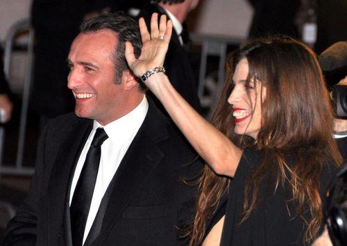 Dujardin et Maiwen, cesar 2012, blogreporter