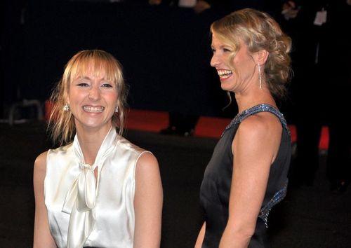 Audrey et Alexandra Lamy, cesar 2012, blogreporter