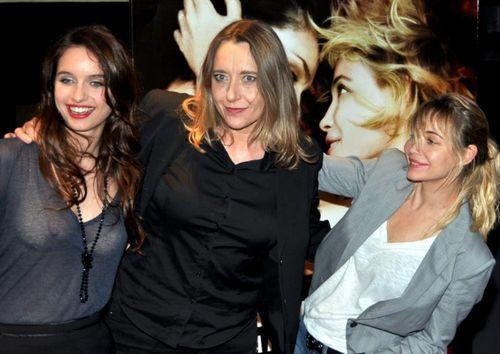 Clara ponsot, virginie Despentes, E Beart avant premiere
