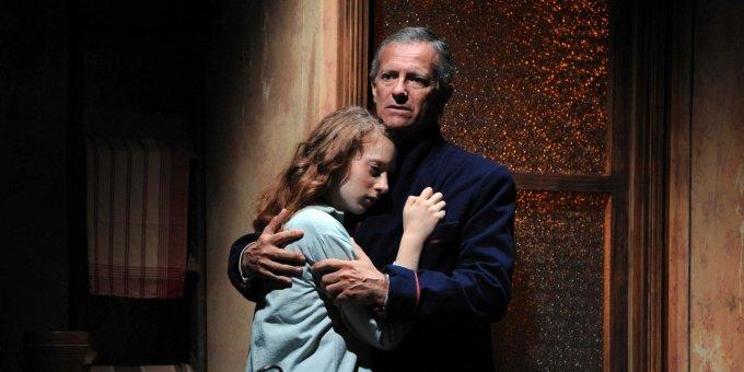Francis Huster-Theatre Rive Gauche- Journal d'Anne de Steve Suissa