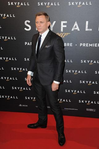 Daniel Craig, avantpremiere SKyfall, Paris-Blogreporter