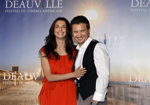 DEAUVILLE- Jeremy Renner- Rachel Weisz-Leblogtrporter
