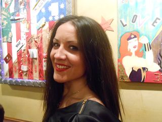 Alexandra Sarramona, actrice, peintre - Blogreporter