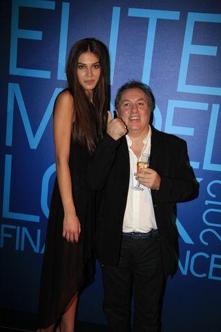 Elite models 2012 la gagnante Marilhea et le Blogreporter