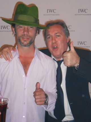 Jamiroquai and Hugo Mayer IWC_BlogCannes