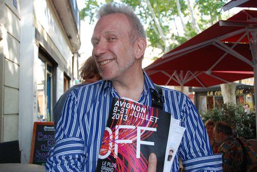 Jean-Paul Gaultier-AvignonOff-LeBlogreporter2013
