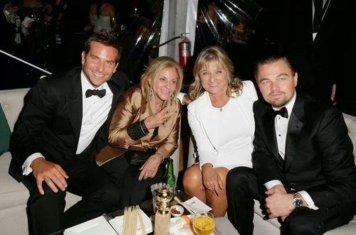 DiCaprio-BradleyCooper et leurs maman