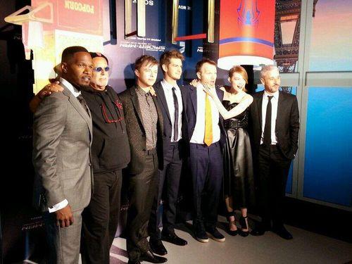 Premiere amazinr Spiderman-REX_Leblogreporter