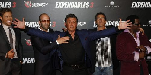 Expendables 3 a Paris-Photos de la Bande