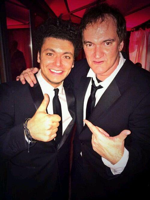 Tarantino et KevAdams Cesar