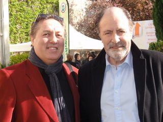 Michel Delpech et LeBlogreporter