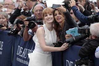 Chastaing Selfie in Deauville_leblog