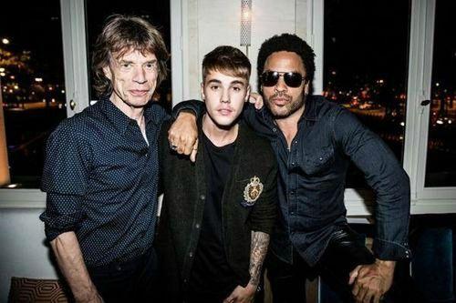 Justinbieber-mick-jagger-lenny-kravitz-PARIS_Leblogreporter