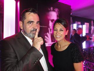 Romain Ales PDG Parfum CARON fete 80 ans- 9oct14