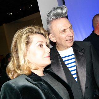 Deneuve et Gaultier expo Grand Palais-Jusquau 3 aout2015
