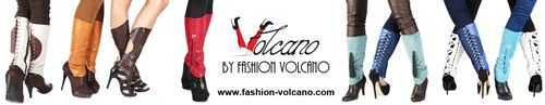 Volcano-fashion-Guetres cuir ou lycra- partner Blog de Cannes