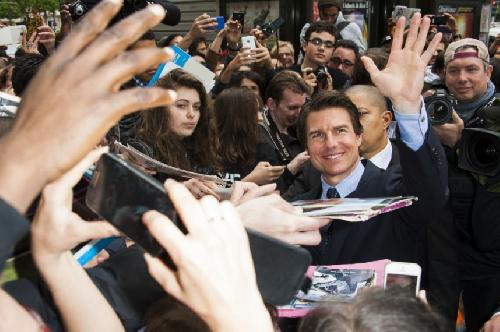 Tom cruise Paris premiere