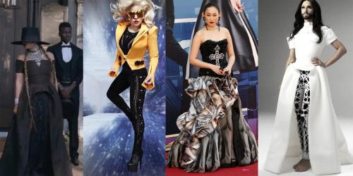 Mode celebrites-on-aura-tout-vu-lady-gaga-beyonce-conchita-wurst-ivana-wong
