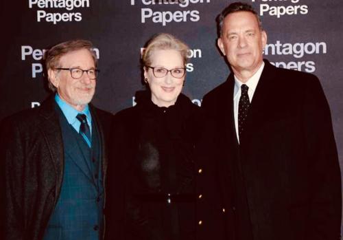 Spielberg  merrylStreep  TomHanks  paris