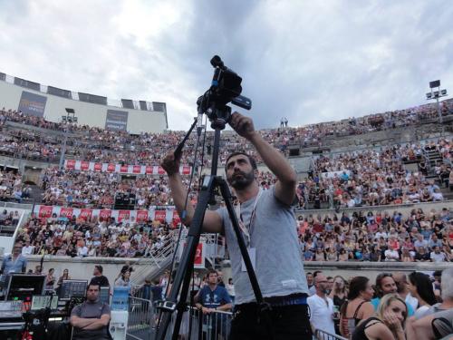 Olivier benkemoun-cnews-concert julien dore  nimes blog2017