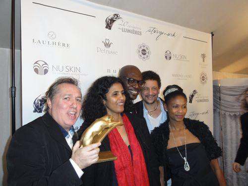 Timbuktu-Prix Lumières- Toulou Kiki, Abel Jaffri et Hugo Mayer- LeBlogreporter